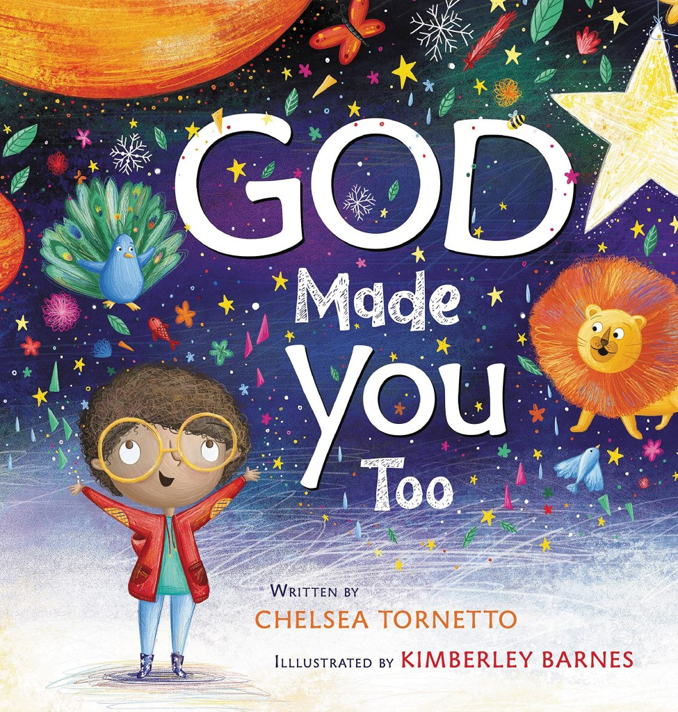 God made you. But why? After all, he made great galaxies and vast oceans and fascinating flamingoes. Isn't that enough?   Through brilliant rhymes and vivid word pictures, author Chelsea Tornetto reminds little readers that to God, the mountains and the whales and the snowflakes were never enough. To our loving Creator, the beautiful world that he made was always incomplete without one very special piece—you.
